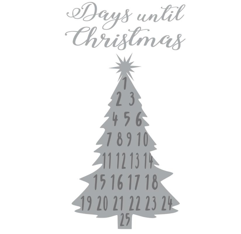 1016 Countdown to Christmas Tree