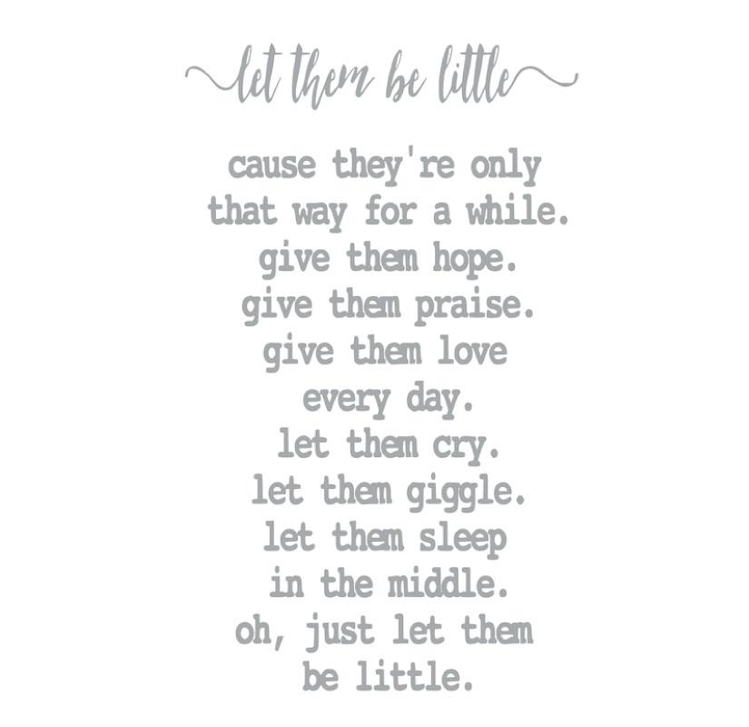 5121 Let them be Little