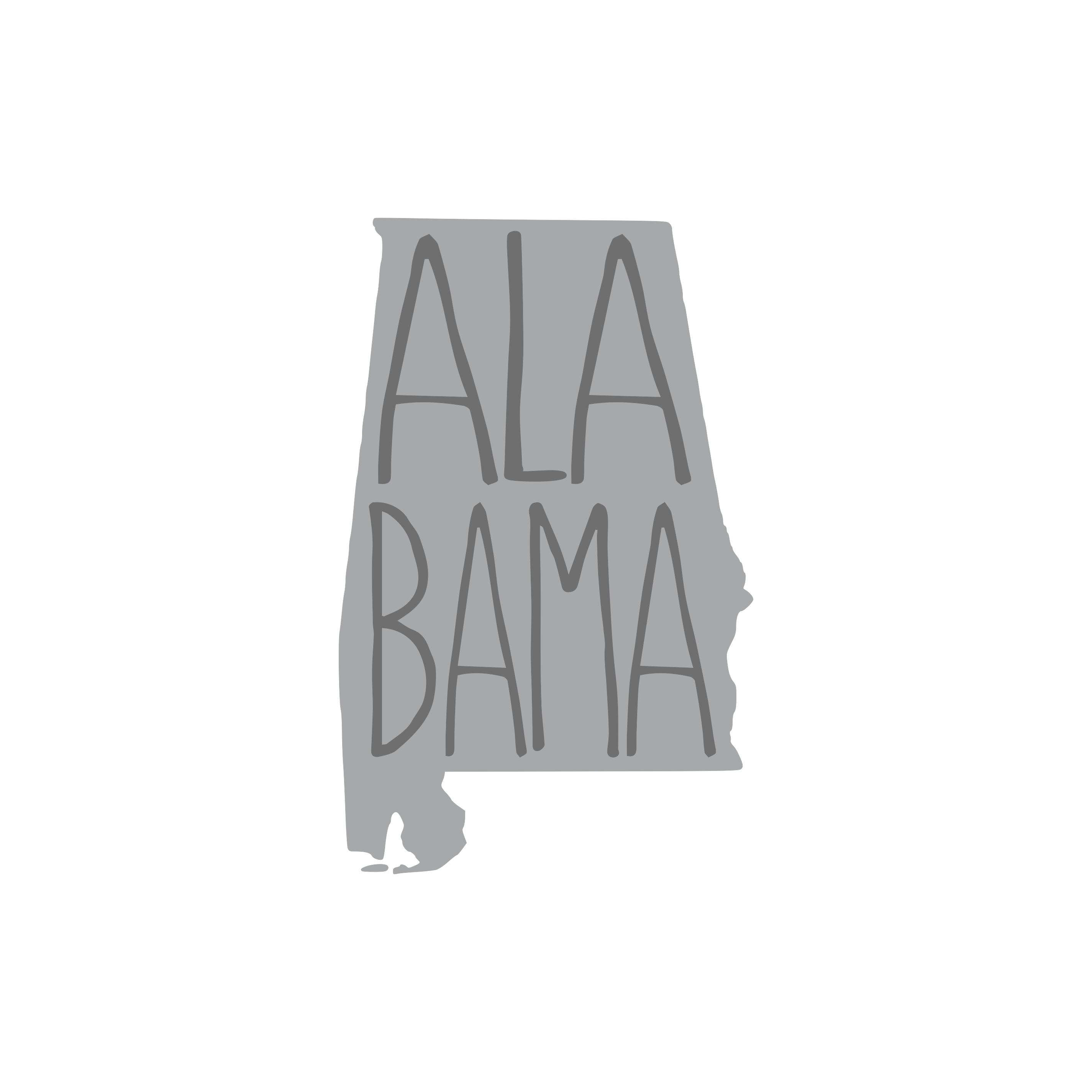 8002 AL State w/ Words