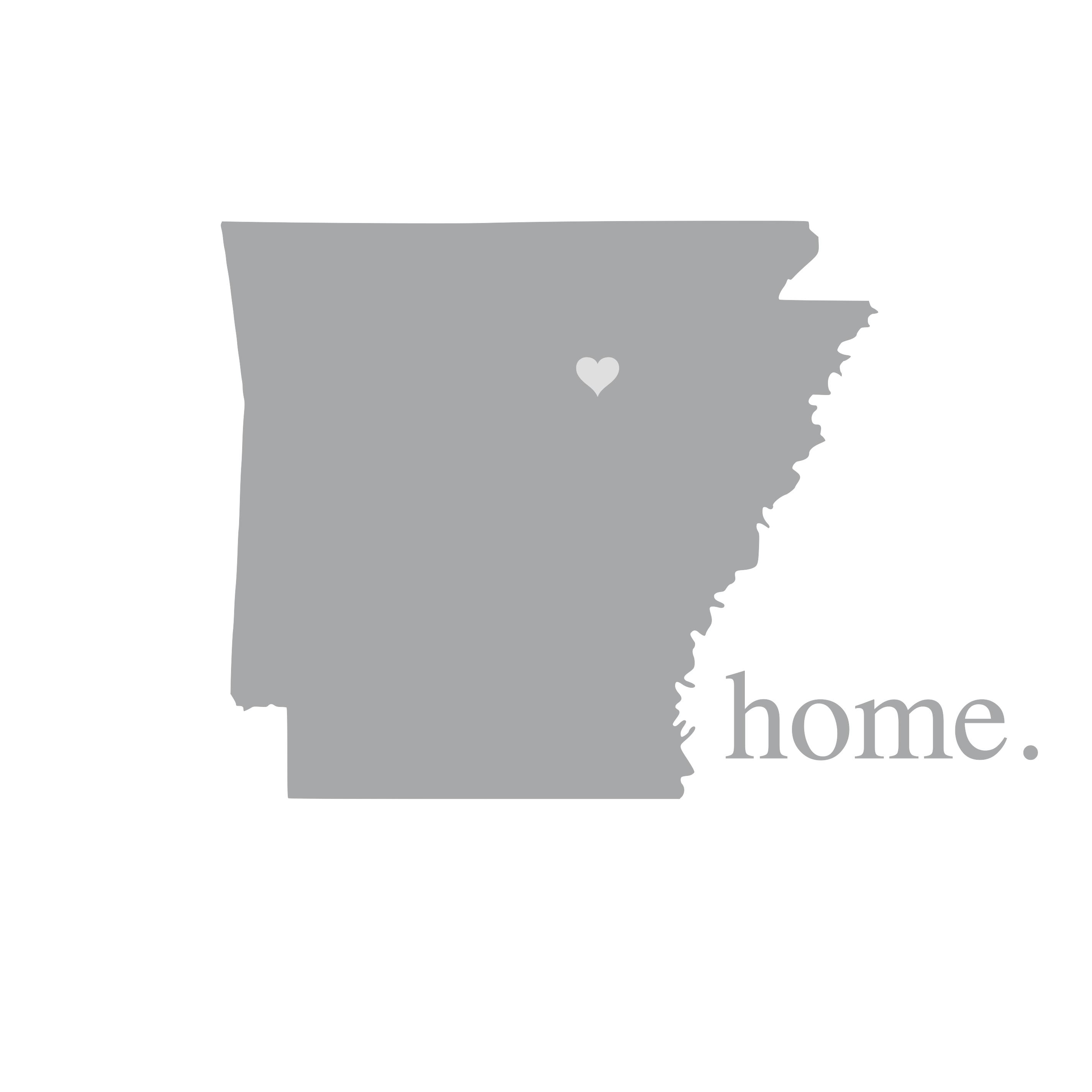 8030 Arkansas Home State
