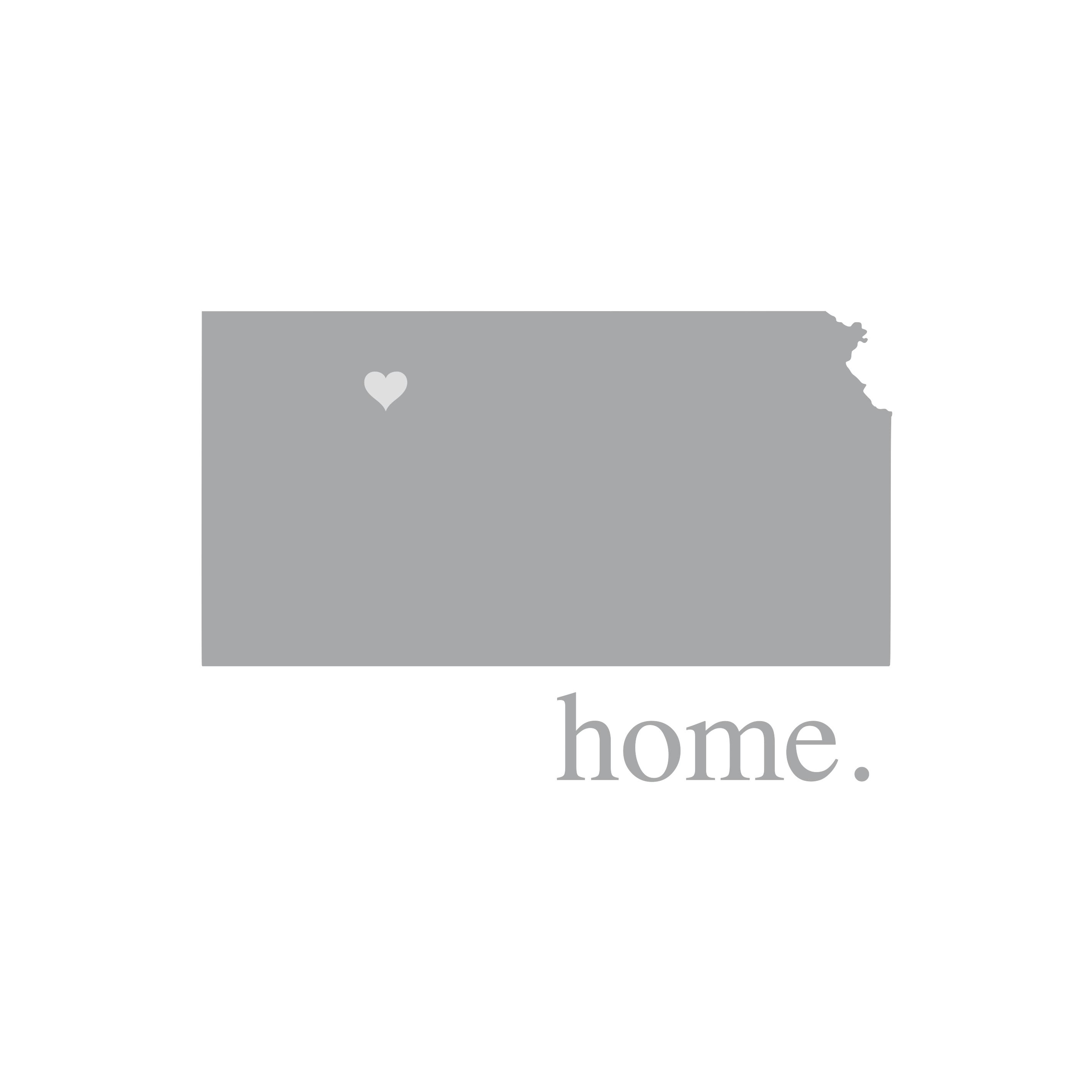 8150 Kansas Home State