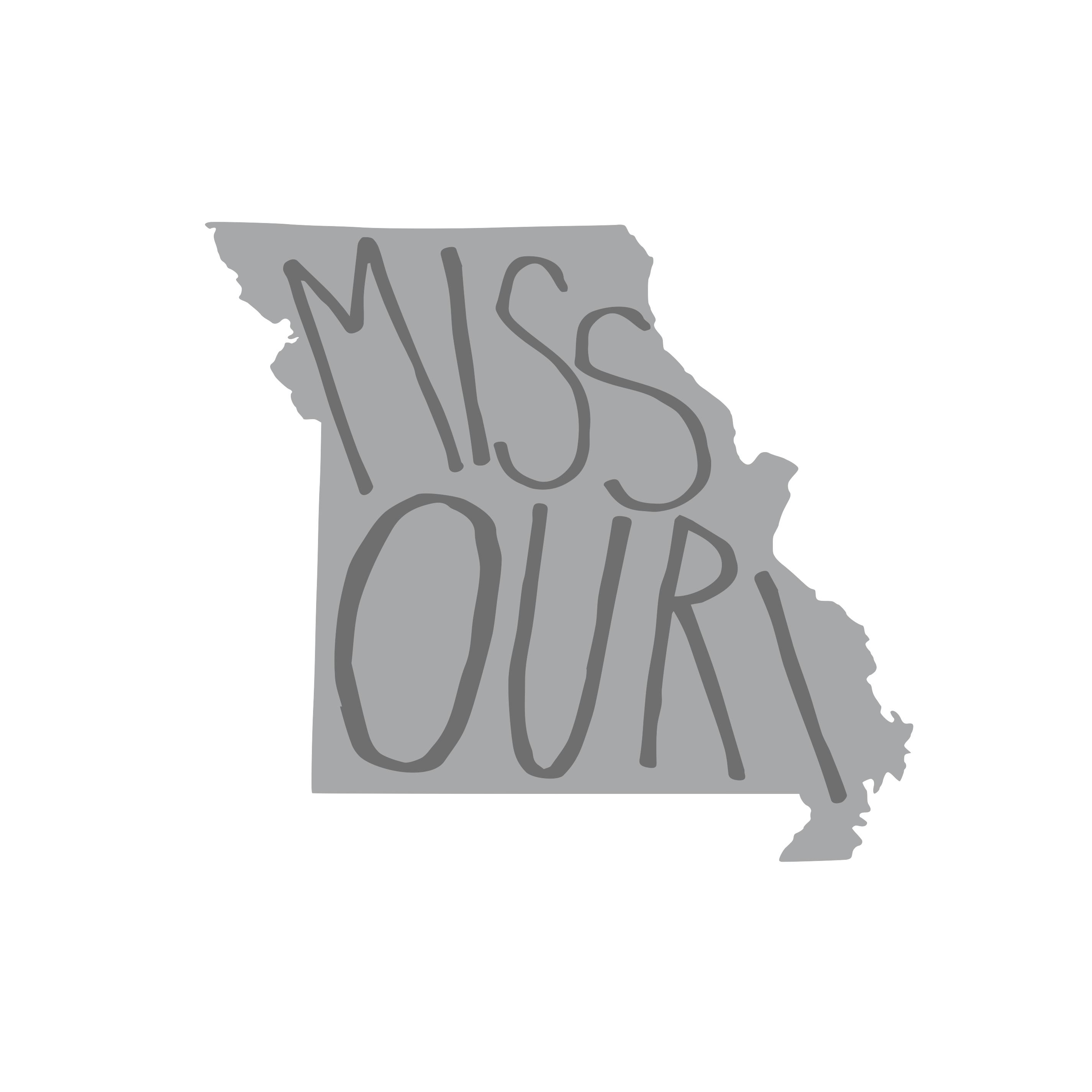 8241 Missouri State w/ Words