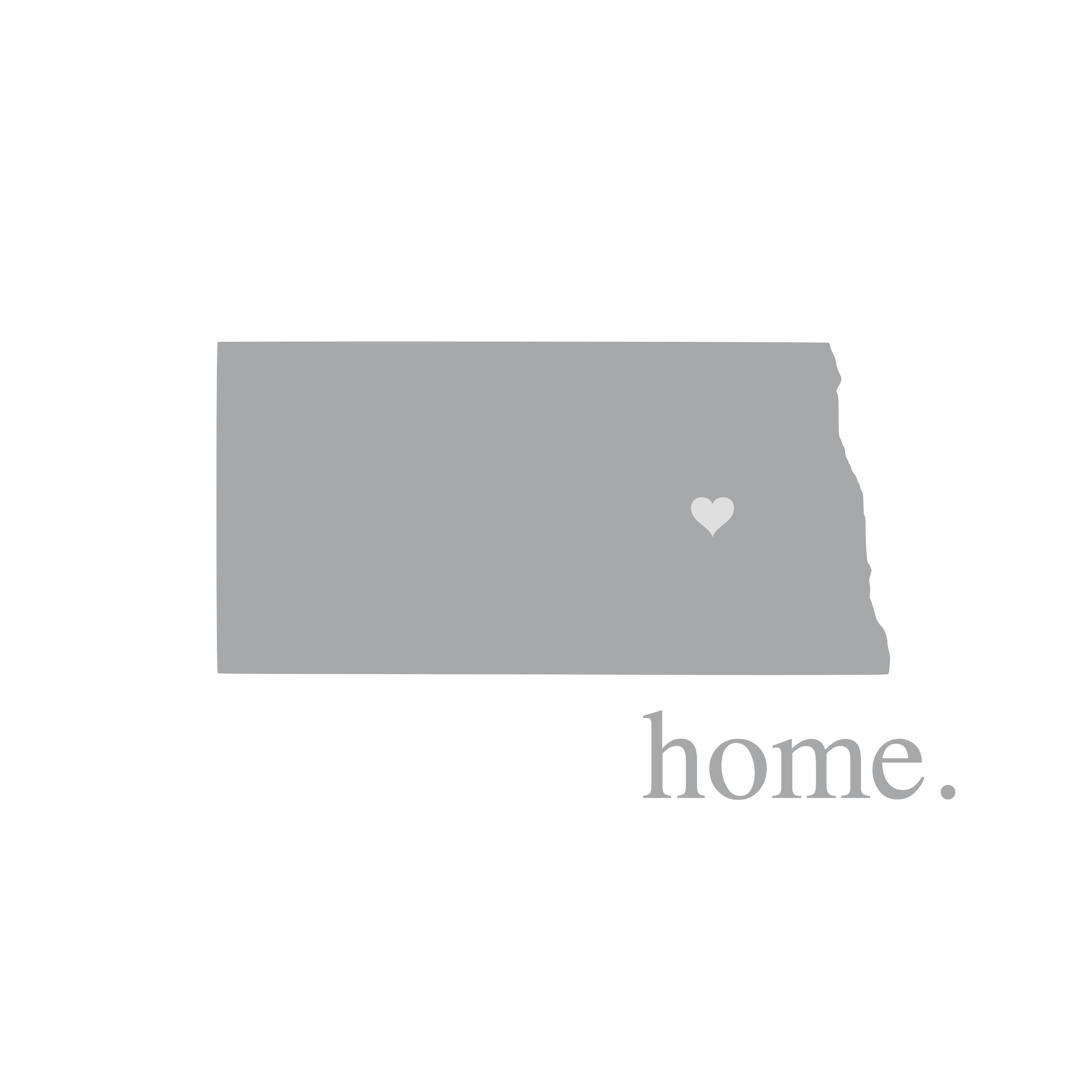 8330 North Dakota Home State