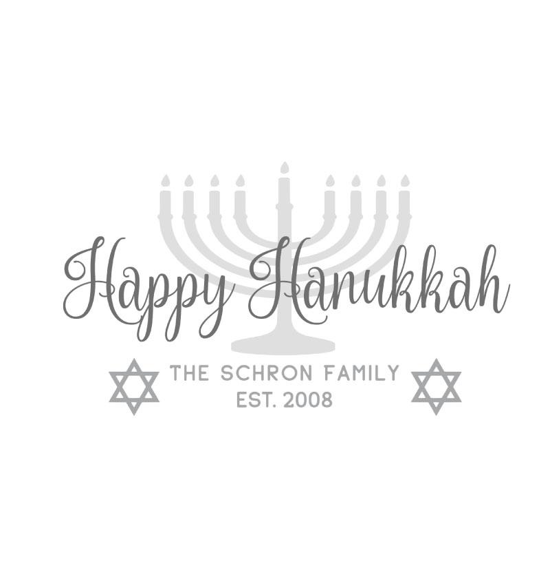 1022 Hanukkah Personalized