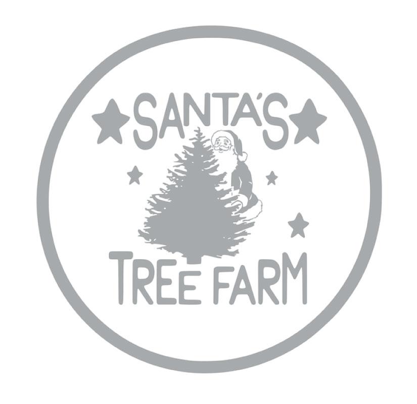 1005 Santa's Tree Farm Round