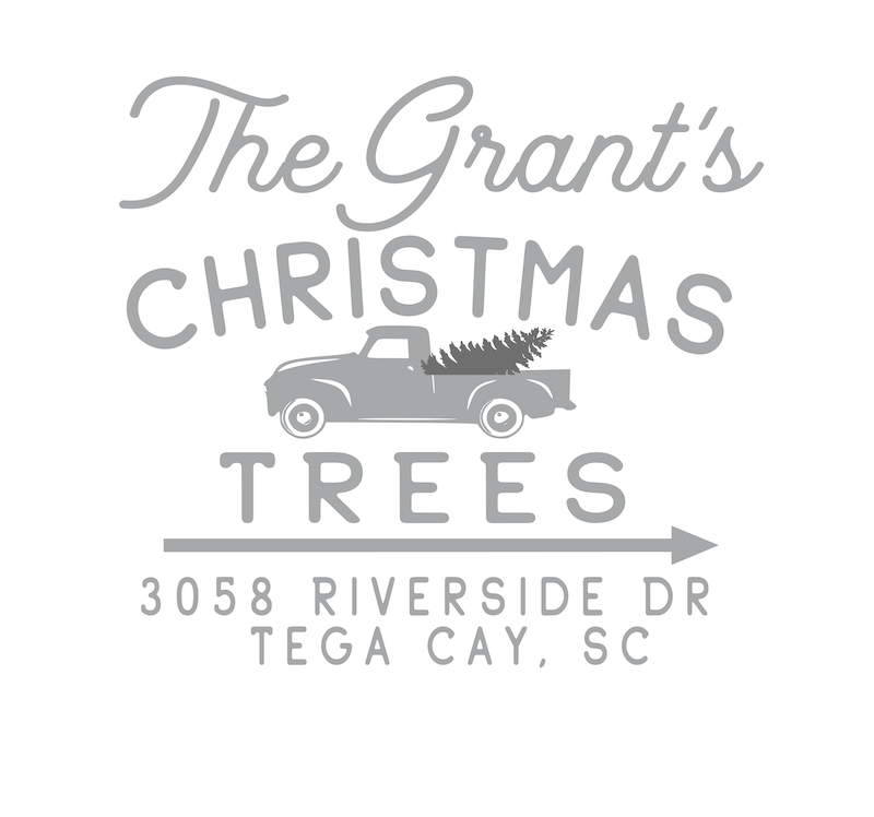 1003 Farm Fresh Christmas Tree Truck w/ Address