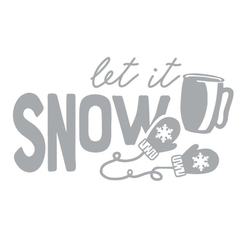 1023 Porch Let it Snow
