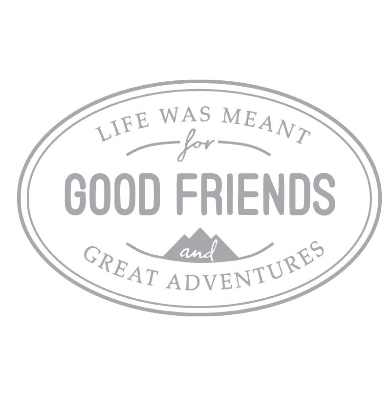 5081 Good Friends Oval Frame