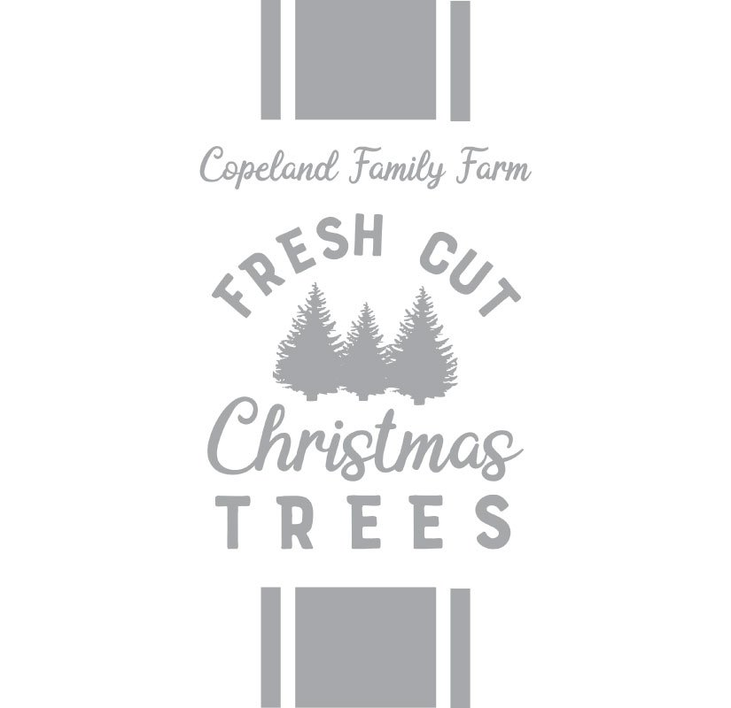 1038 Family Christmas Trees