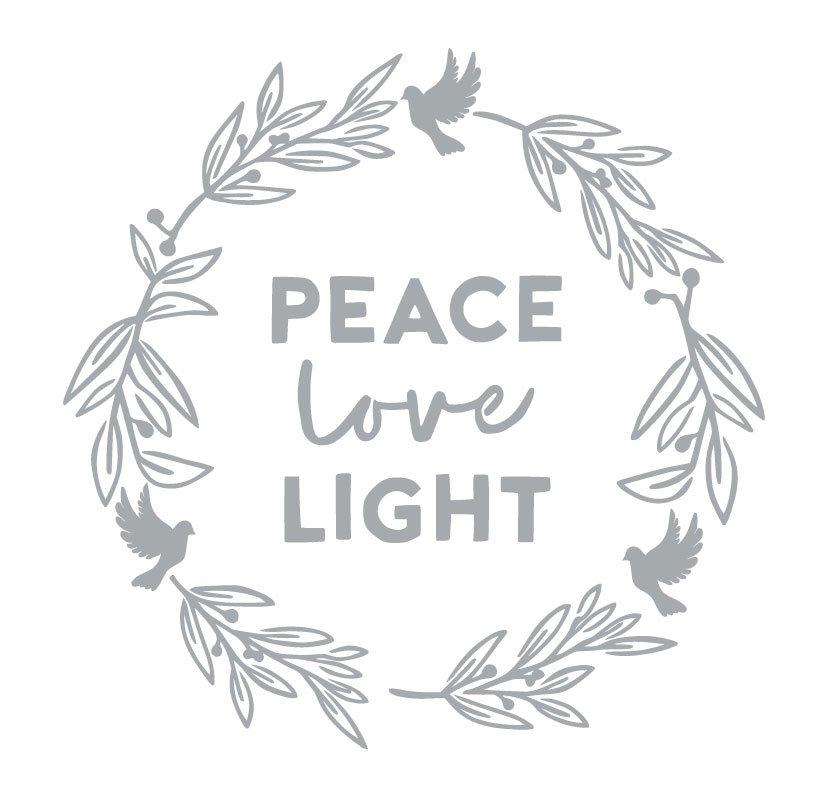 1049 Peace Love Light