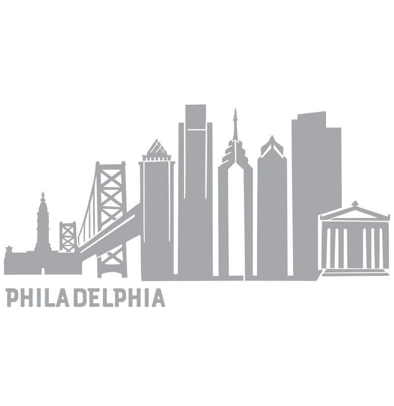 8376 Philadelphia Skyline