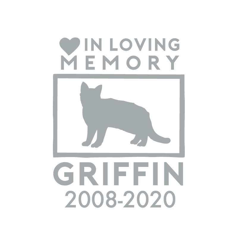 5187 Pet In Loving Memory Cat