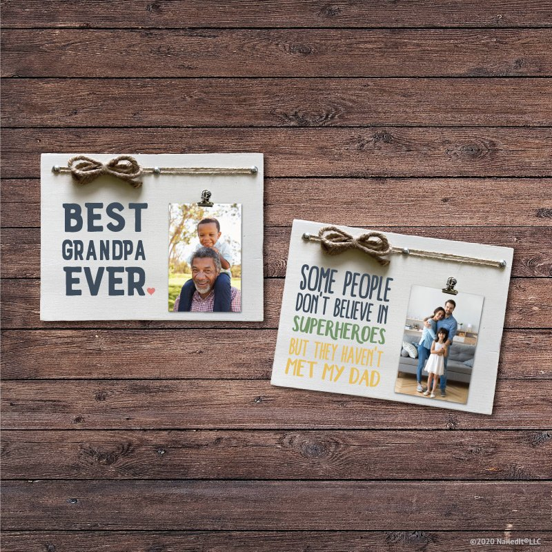 TM128- Father's Day Photo Holder
