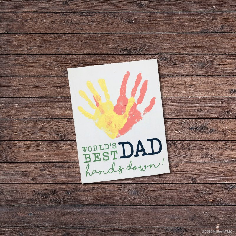 TM130 – Father's Day Handprint