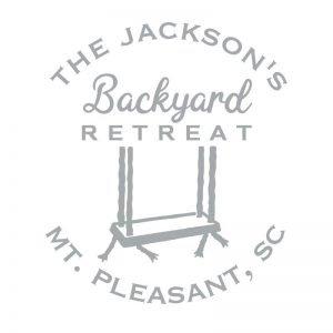 3058 Backyard Retreat Swing