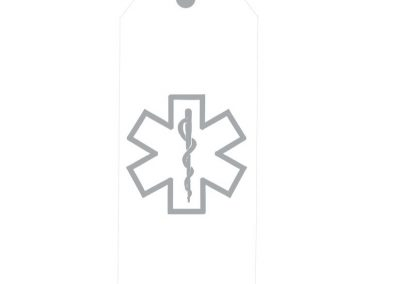 TM139- A Hero Lives Here First Responder Door Tags 5