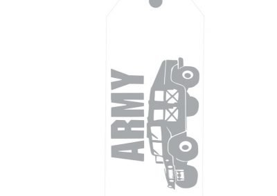 TM140- A Hero Lives Here Military Door Tags 3