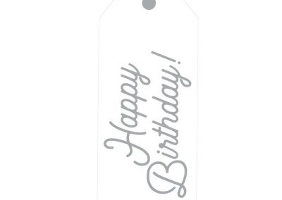 TM142- Happy Birthday Door Tags 2