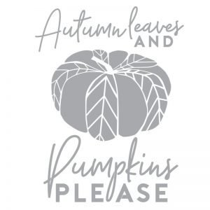 4047 Autumn Leaves Pumpkins Please